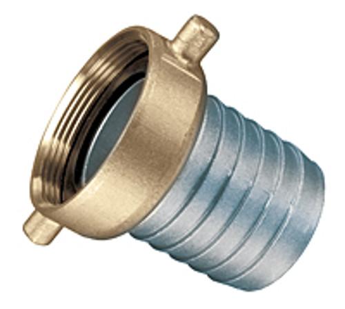 Kuriyama Aluminum Female Pin Lug with Brass Swivel Nut