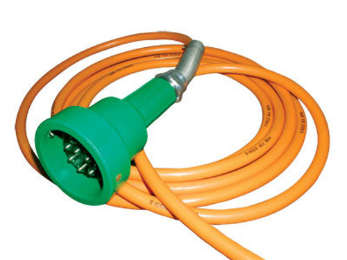 Scully Green Thermistor Plug & Straight Cord w/ 2 J-Slot Pins & 8 Contact Pins for 20 ft. Scully System