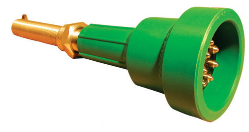 Scully Green Thermistor Plug Only w/ 2 J-Slot Pins & 8 Contact Pins for Scully Systems