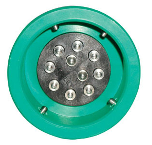 Civacon Green Thermistor Plug Only w/ 4 J-Slot Pins & 10 Contact Pins for Civacon or Scully® Compatible Systems