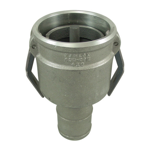 Civacon 633CPP 4 in. Female Cam x Hose Shank w/ Probe, Check Valve & Stainless Paddle Arms