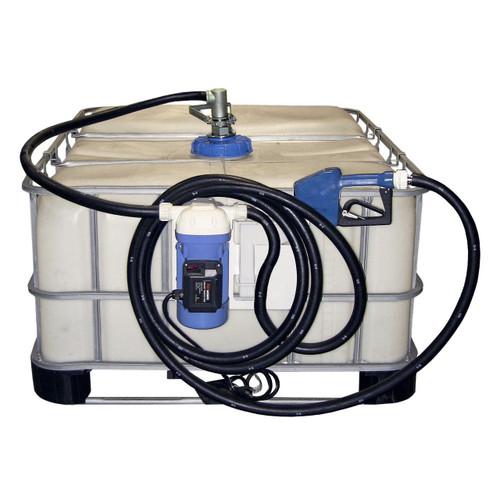 JME 12V DC Pump DEF Transfer Systems w/ RSV Coupler & Auto Nozzle (Tote & RSV Valve Not Included)