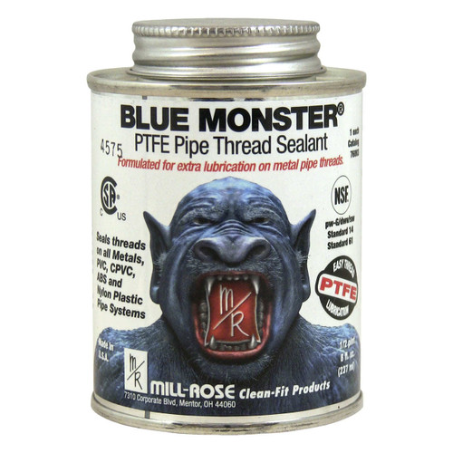 Blue Monster Industrial Grade PTFE Pipe Thread Sealant