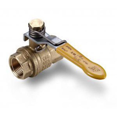 Morrison Bros. 691A Series 1/2 in. NPT Spring Loaded Brass Ball Valve