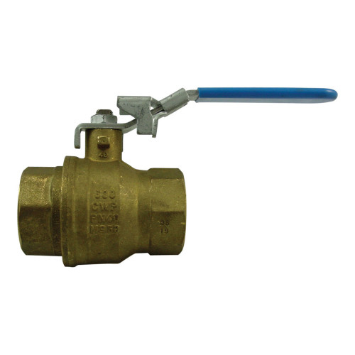 Morrison Bros. 691B Series 1 in. NPT Locking Brass Ball Valve - Full Port