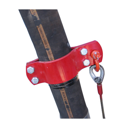 American Iron Works Hose Hobble Clamp x Anchor - 4 Bolt Style w/ Cable Assembly