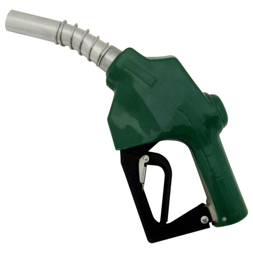 JME Automatic 7HFN 1 in. Inlet Diesel Fuel Nozzle - Green