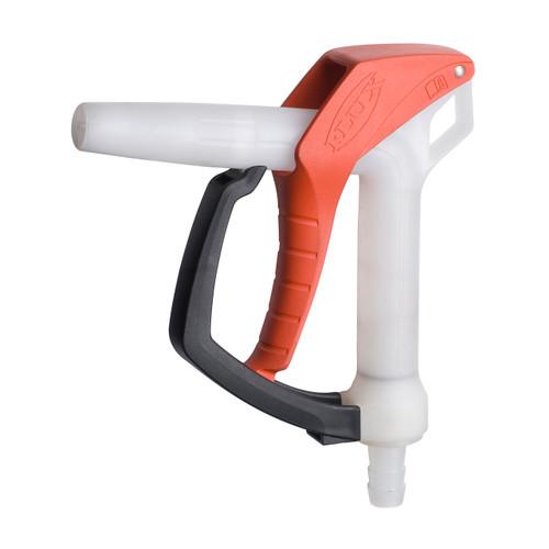 Flux 3/4 in. PVDF Hand Nozzle w/ Kalrez Seal