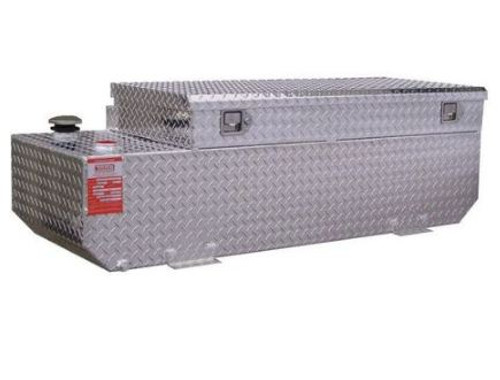 58 Gallon DOT Refueling Tank/Toolbox Combo - Ford Trucks (1999 - Current)