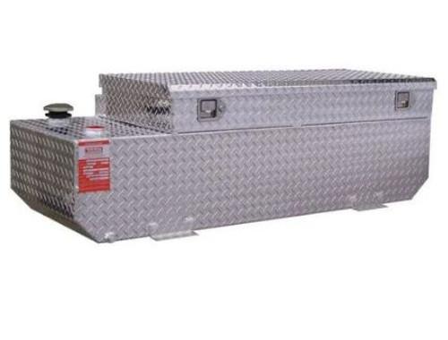 58 Gallon DOT Refueling Tank/Toolbox Combo - GM Trucks thru 2010