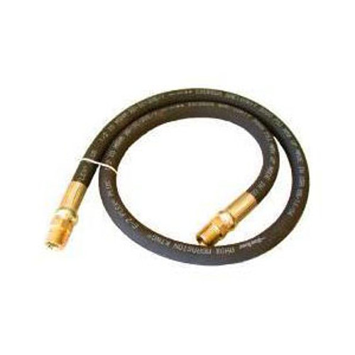 1/4 in. Grease Hose Assembly w/ Male x Male Swivel Ends - 5000 PSI