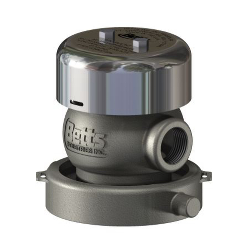 Betts 4 in. Guardian Vacuum Breaker w/ PTFE Seals & NPS Swivel Connection
