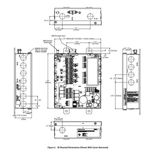 Veeder Root EMR4 Interconnect Box w/ Installation Kit