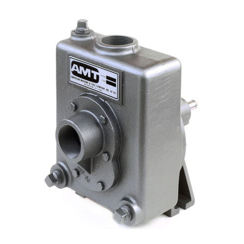 AMT 2820-98 1 1/2 in. Stainless Steel Self Priming Centrifugal Pedestal Pump