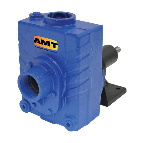 AMT 2760-99 2 in. Cast Iron Self Priming Centrifugal Pedestal Pump