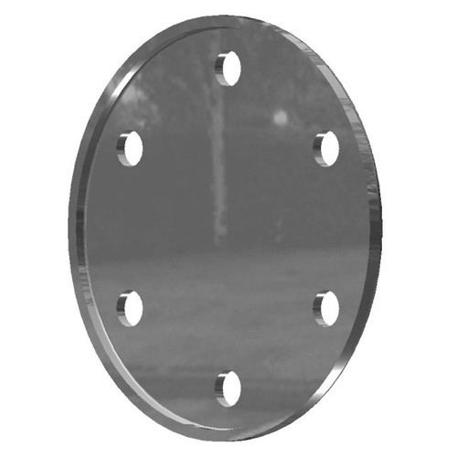 Allegheny Coupling 2 in. Aluminum Blind Flange