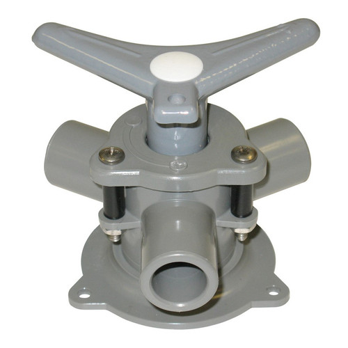 Bosworth Sea-lect® YV-094D-B Easy-Turning Base Mount Y-Valve w/ Acetal Handle