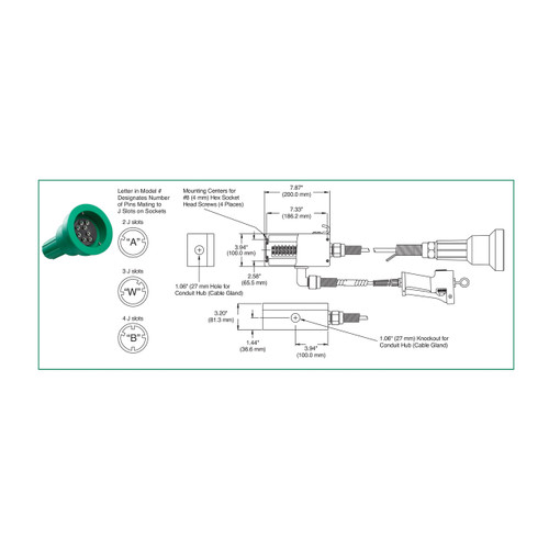 fuel pump diagram     on scully pull-away socket and plug system for blue  optic system w/ 3- scully wiring