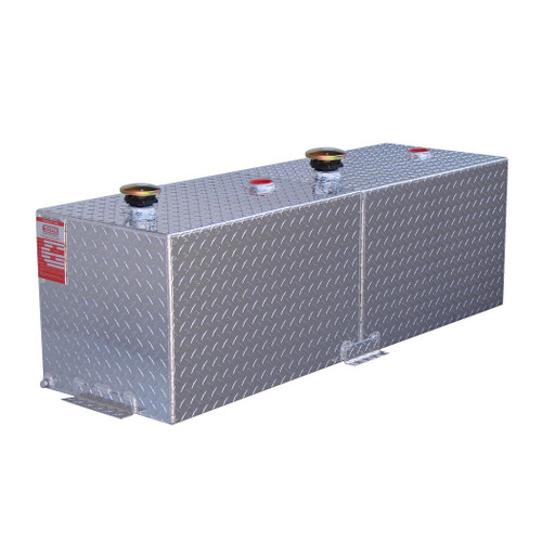 110 Gallon DOT Aluminum Rectangular Split Two Fuel Transfer Tank