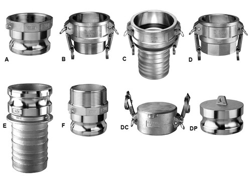 Kuriyama 2 1/2 in. Stainless Steel Quick Couplings
