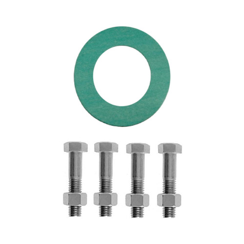 Matco Norca GSNAX Series 300# Non-Asbestos Fiber Ring Gasket & Bolt Pack - 1/16 in. Green
