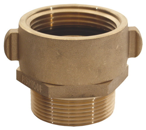 Dixon 2 1/2 in. NST x 2 1/2 in. NPT Brass Rocker Lug Female Swivel