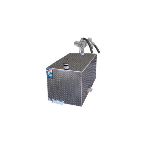 110 Gallon DOT Transfer Tank with GPI G20MD 12V 20 GPM Pump