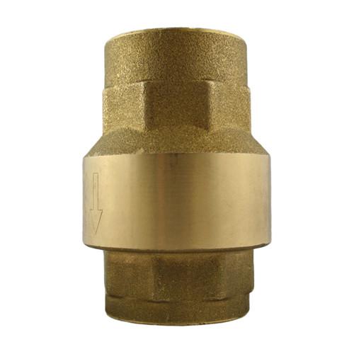 Titan Flow Control CV 20-BR Threaded Brass Check Valve w/ Buna-N Seat