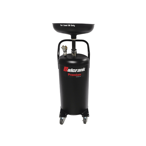 Balcrank 4110-024 Premium Duty  Used Oil Drain23 Gal., Black