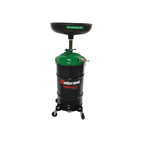 Balcrank 4110-028 Spillguard Anti-Freeze Drain 16 Gal. , Green