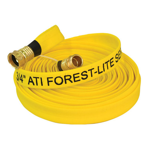 ATI Forest Lite 3/4 in. Mop-Up Hose w/ Brass GHT Threaded Coupling