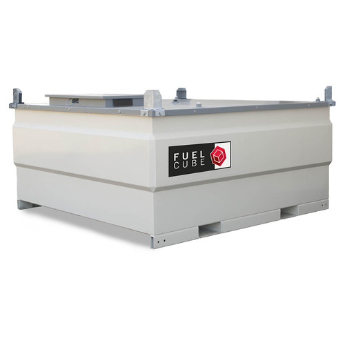 Western Global 1016 Gallon FuelCube Stationary Fuel Storage Tank Only