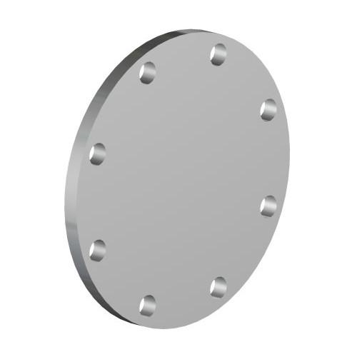 Betts 4 in. 316 Stainless Steel TTMA Blind Flange