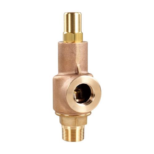Aquatrol 69 Series 1 1/4 in. MNPT x FNPT Brass Air/Gas Relief Valve