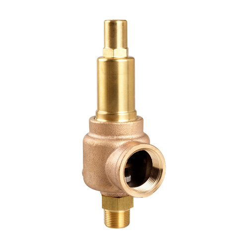 Aquatrol 740 Series 1 1/4 in. MNPT x FNPT Brass Air/Gas Safety & Relief Valve
