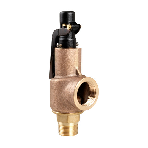 Aquatrol 88 Series 1 1/4 in. MNPT x FNPT Brass Air/Gas Safety Valve