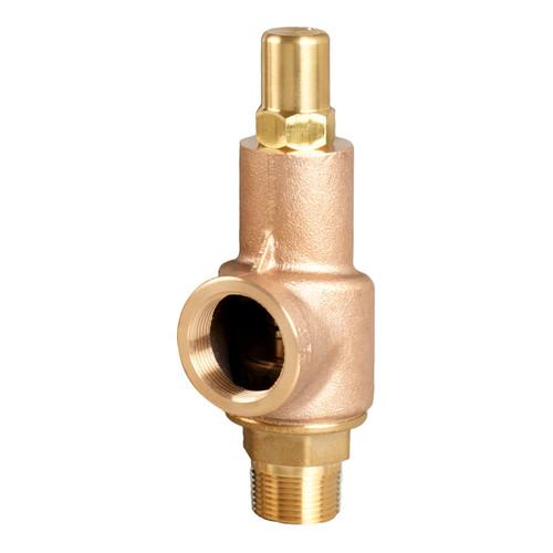 Aquatrol 89 Series 1 in. MNPT x FNPT Brass Air/Gas Safety Valve