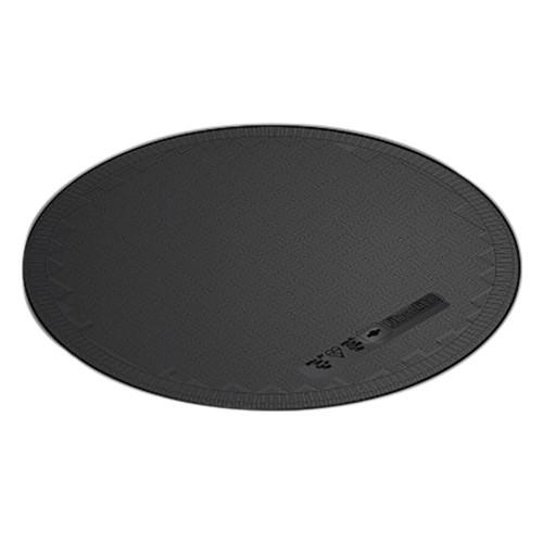 42 in. Dia. Black Raised Composite Replacement Manhole Cover