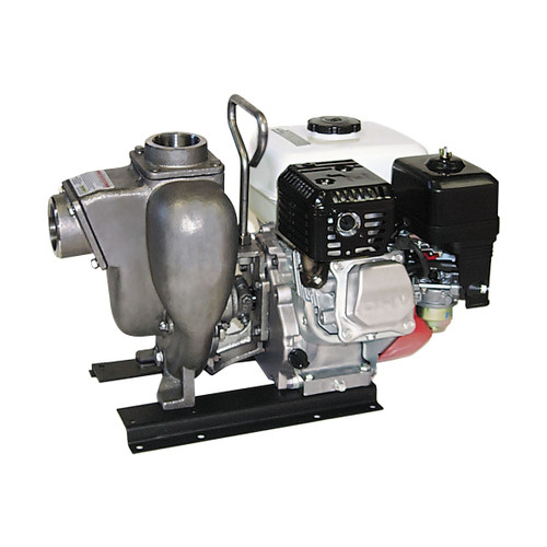 Banjo 2 in. Stainless Steel Centrifugal Pump w/ 5.5 HP Honda Pull Rope Engine