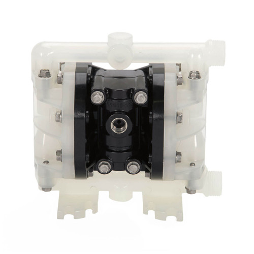 ALL-FLO A025 1/4 in. Polypropylene Air Diaphragm Pump w/ Geolast Diaphragms, PTFE Balls & Seats