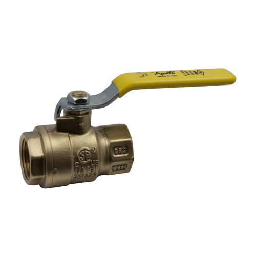 Apollo 77F-100 Series 2 1/2 in. FNPT Forged Brass Ball Valve - Full Port