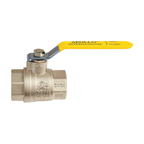 Apollo 94A Series 4 in. FNPT Forged Brass Ball Valve - Full Port