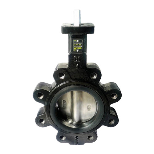Apollo LC141 Series 12 in. 150# Flange Ductile Iron Butterfly Valve, Lug Style