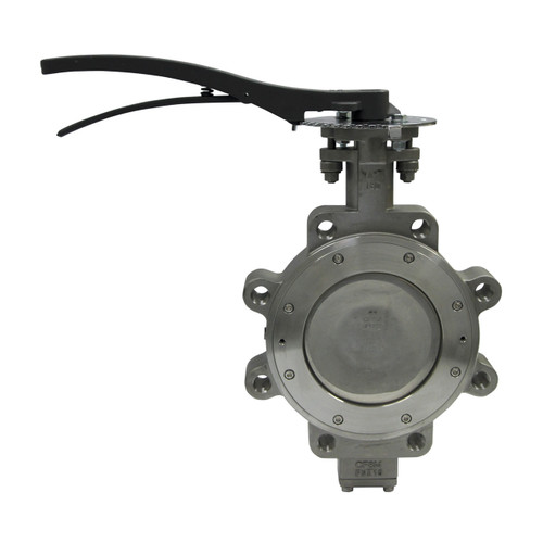 Apollo 215L Series 5 in. 150# Flange Carbon Steel Butterfly Valve, Lug Style, Stem Only