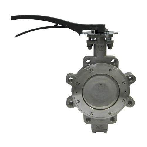 Apollo 215L Series 6 in. 150# Flange Carbon Steel Butterfly Valve, Lug Style, Stem Only