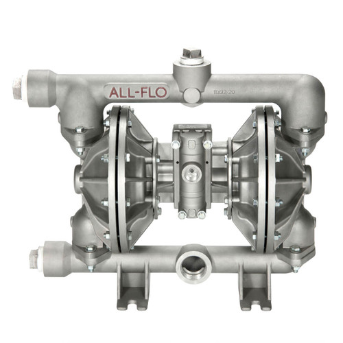 All-Flo A Series 1 1/2 in. NPT Aluminum Air Diaphragm Pumps, 115 GPM w/Buna-N Diaphragm & O-Ring, Polyp Seat & Geolast Valve/Ball