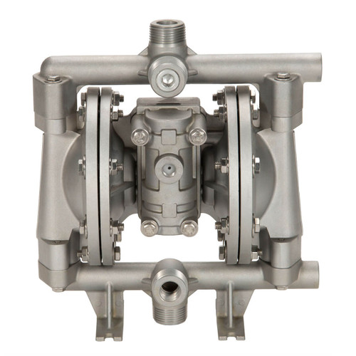 All-Flo A Series 1/2 in. NPT Aluminum Air Diaphragm Pumps, 15 GPM w/PTFE Diaphragm, O-Ring, Valve & Ball, Nylon Seat