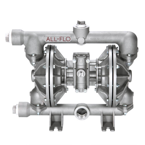 All-Flo A Series 1 1/2 in. NPT Aluminum Air Diaphragm Pumps, 115 GPM w/PTFE Diaphragm, O-Ring, Valve & Ball, Nylon Seat