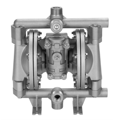 All-Flo A Series 1/2 in. NPT Aluminum Air Diaphragm Pumps, 15 GPM w/Santoprene Diaphragm, Valve & Ball, EPDM O-Ring, Polyp Seat