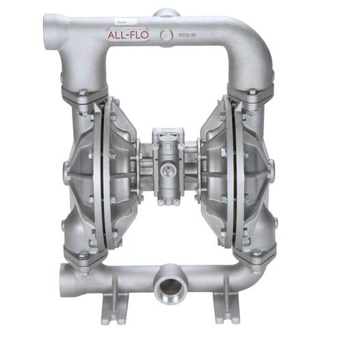 All-Flo A Series 2 in. NPT Aluminum Air Diaphragm Pumps, 190 GPM w/Santoprene Diaphragm, Valve & Ball, EPDM O-Ring, Polyp Seat